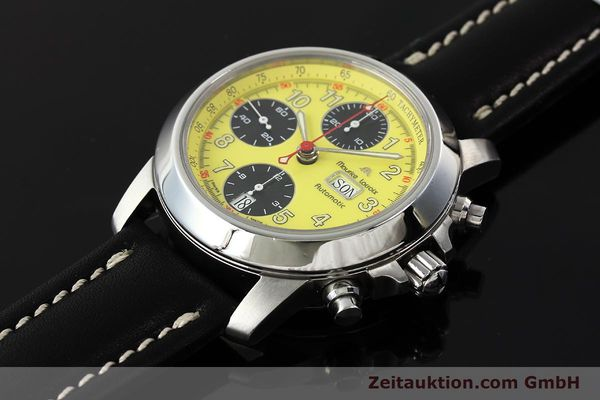 Used luxury watch Maurice Lacroix Croneo chronograph steel automatic Kal. ETA 7750 Ref. 4249  | 142881 01