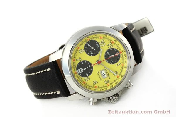 Used luxury watch Maurice Lacroix Croneo chronograph steel automatic Kal. ETA 7750 Ref. 4249  | 142881 03