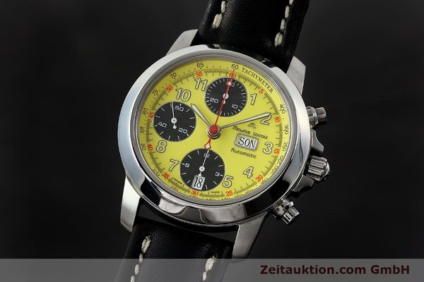 Used luxury watch Maurice Lacroix Croneo chronograph steel automatic Kal. ETA 7750 Ref. 4249  | 142881 04