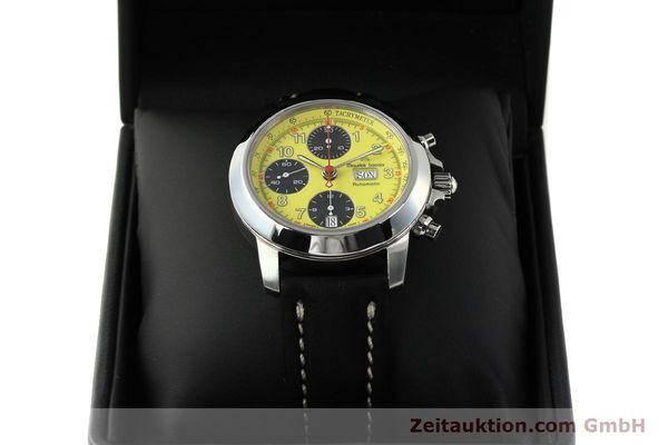 Used luxury watch Maurice Lacroix Croneo chronograph steel automatic Kal. ETA 7750 Ref. 4249  | 142881 07