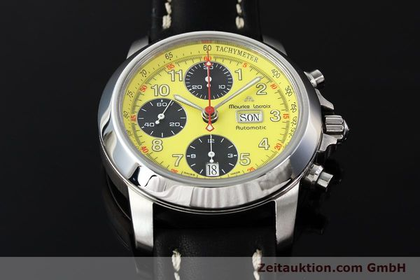 Used luxury watch Maurice Lacroix Croneo chronograph steel automatic Kal. ETA 7750 Ref. 4249  | 142881 14