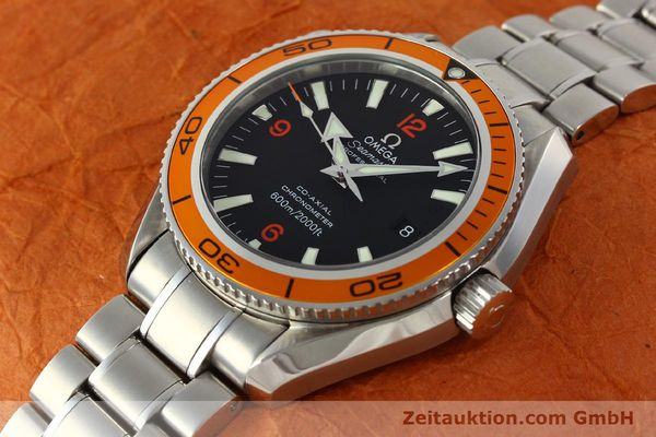 Used luxury watch Omega Seamaster steel automatic Kal. 2500C Ref. 29095038  | 142882 01
