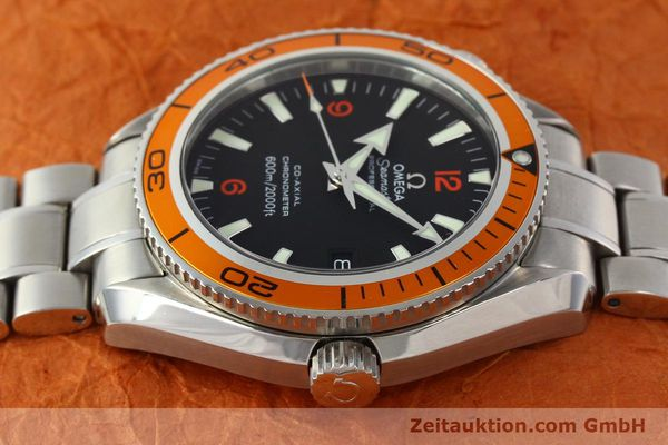 Used luxury watch Omega Seamaster steel automatic Kal. 2500C Ref. 29095038  | 142882 05