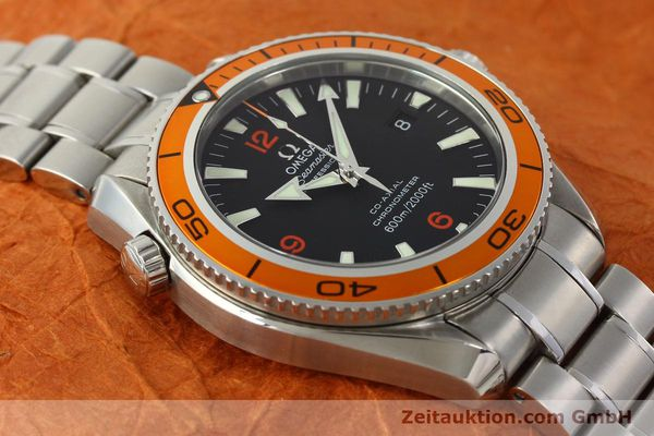 Used luxury watch Omega Seamaster steel automatic Kal. 2500C Ref. 29095038  | 142882 17