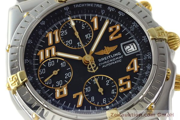 Used luxury watch Breitling Chronomat chronograph steel / gold automatic Kal. B13 ETA 7750 Ref. B13050.1  | 142886 02