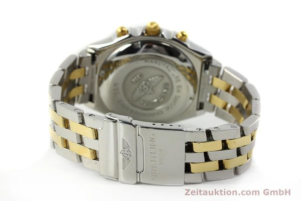 Used luxury watch Breitling Chronomat chronograph steel / gold automatic Kal. B13 ETA 7750 Ref. B13050.1  | 142886 11