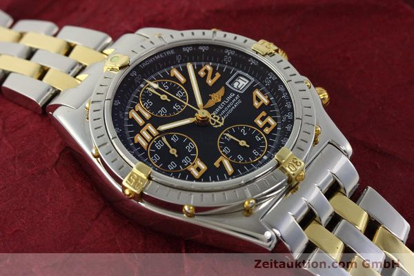 Used luxury watch Breitling Chronomat chronograph steel / gold automatic Kal. B13 ETA 7750 Ref. B13050.1  | 142886 15