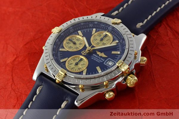 Used luxury watch Breitling Chronomat chronograph steel / gold automatic Kal. B13 ETA 7750 Ref. B13050.1  | 142887 01