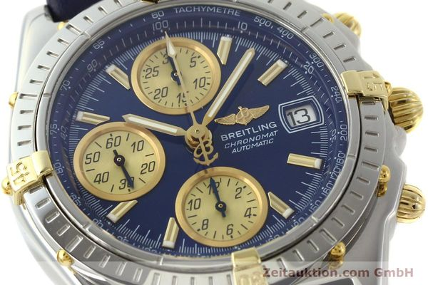 Used luxury watch Breitling Chronomat chronograph steel / gold automatic Kal. B13 ETA 7750 Ref. B13050.1  | 142887 02