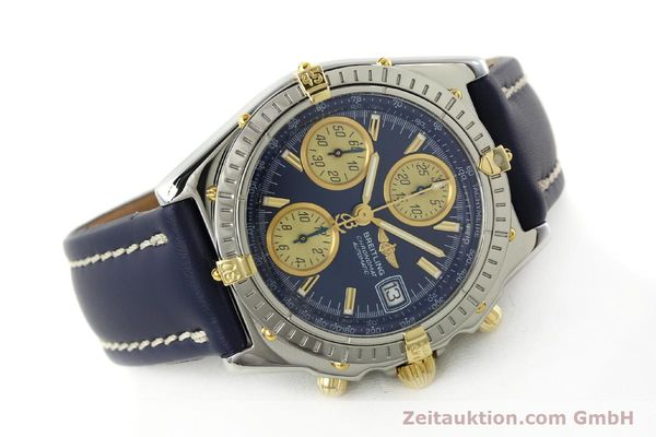 Used luxury watch Breitling Chronomat chronograph steel / gold automatic Kal. B13 ETA 7750 Ref. B13050.1  | 142887 03
