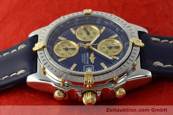 Used luxury watch Breitling Chronomat chronograph steel / gold automatic Kal. B13 ETA 7750 Ref. B13050.1  | 142887 05