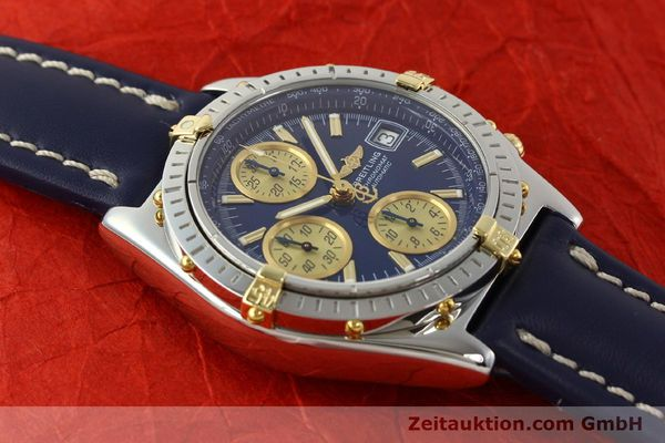 Used luxury watch Breitling Chronomat chronograph steel / gold automatic Kal. B13 ETA 7750 Ref. B13050.1  | 142887 15
