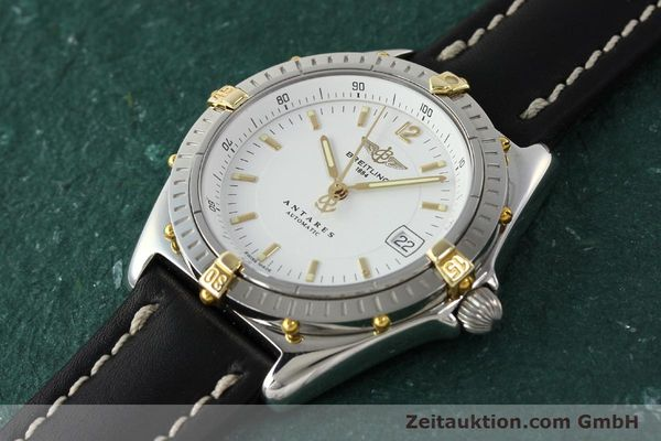 Used luxury watch Breitling Antares steel / gold automatic Kal. B10 ETA 2892A2 Ref. B10048  | 142890 01