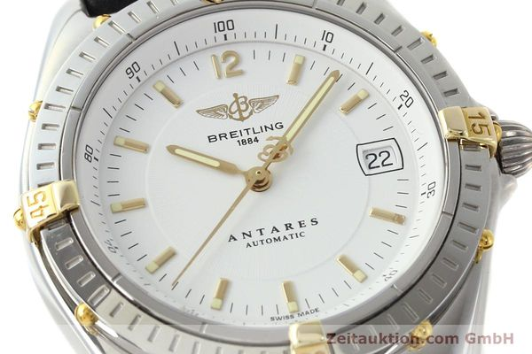 Used luxury watch Breitling Antares steel / gold automatic Kal. B10 ETA 2892A2 Ref. B10048  | 142890 02