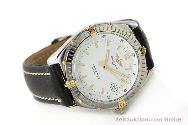 Used luxury watch Breitling Antares steel / gold automatic Kal. B10 ETA 2892A2 Ref. B10048  | 142890 03