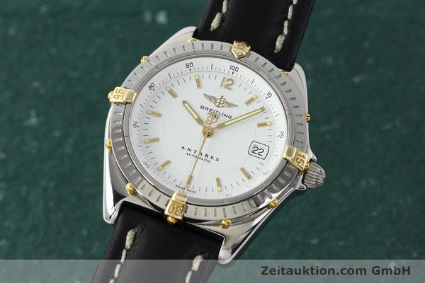 Used luxury watch Breitling Antares steel / gold automatic Kal. B10 ETA 2892A2 Ref. B10048  | 142890 04