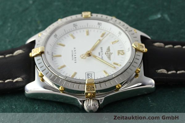 Used luxury watch Breitling Antares steel / gold automatic Kal. B10 ETA 2892A2 Ref. B10048  | 142890 05