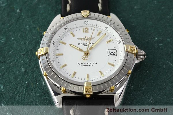 Used luxury watch Breitling Antares steel / gold automatic Kal. B10 ETA 2892A2 Ref. B10048  | 142890 14