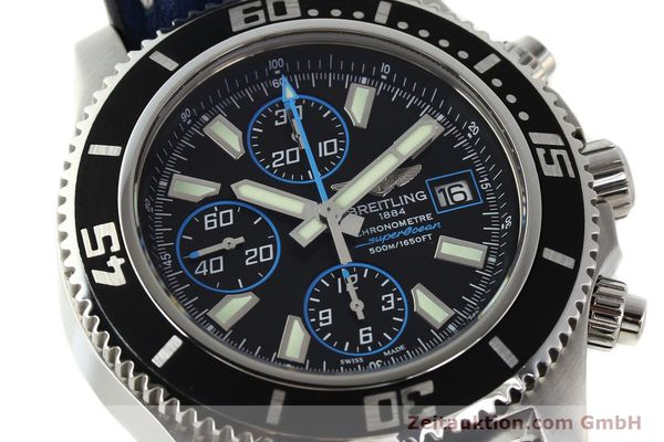 Used luxury watch Breitling Superocean Chronograph chronograph steel automatic Kal. B13 ETA 7750 Ref. A13341  | 142895 02