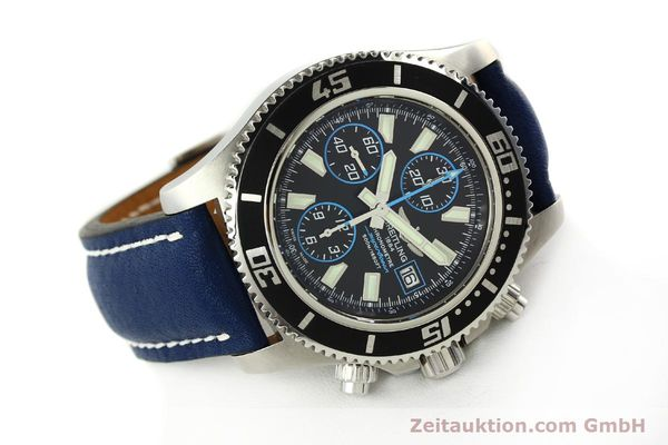Used luxury watch Breitling Superocean Chronograph chronograph steel automatic Kal. B13 ETA 7750 Ref. A13341  | 142895 03