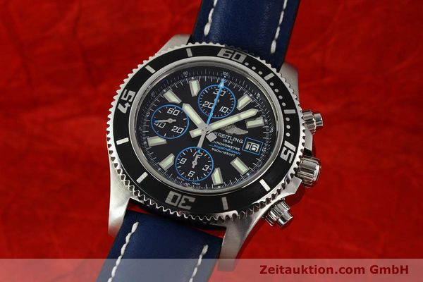 Used luxury watch Breitling Superocean Chronograph chronograph steel automatic Kal. B13 ETA 7750 Ref. A13341  | 142895 04