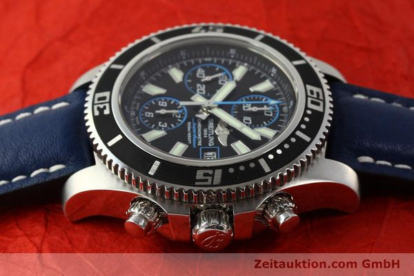 Used luxury watch Breitling Superocean Chronograph chronograph steel automatic Kal. B13 ETA 7750 Ref. A13341  | 142895 05