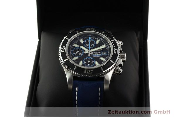Used luxury watch Breitling Superocean Chronograph chronograph steel automatic Kal. B13 ETA 7750 Ref. A13341  | 142895 07