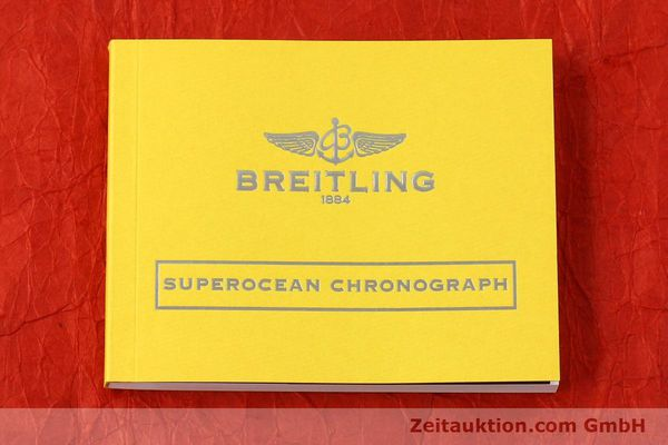 Used luxury watch Breitling Superocean Chronograph chronograph steel automatic Kal. B13 ETA 7750 Ref. A13341  | 142895 13