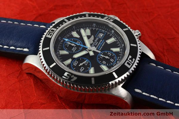 Used luxury watch Breitling Superocean Chronograph chronograph steel automatic Kal. B13 ETA 7750 Ref. A13341  | 142895 17