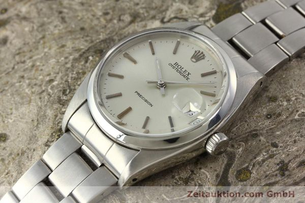 Used luxury watch Rolex Precision steel manual winding Kal. 1210  | 142896 01