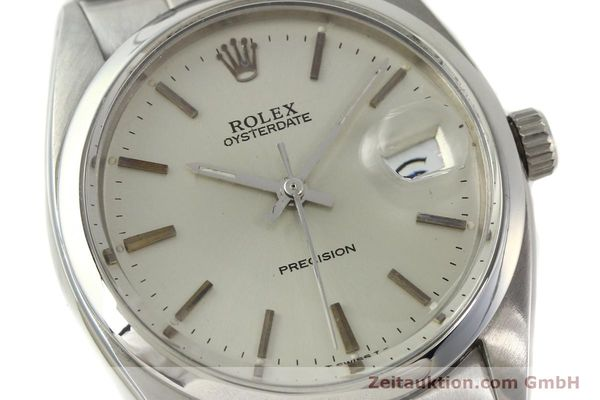 Used luxury watch Rolex Precision steel manual winding Kal. 1210  | 142896 02