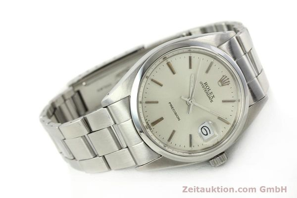 Used luxury watch Rolex Precision steel manual winding Kal. 1210  | 142896 03