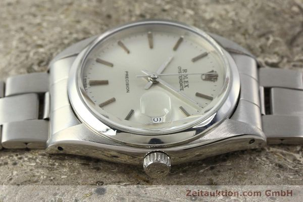 Used luxury watch Rolex Precision steel manual winding Kal. 1210  | 142896 05