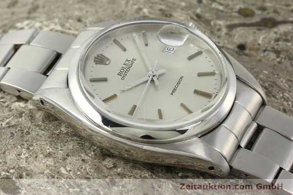 Used luxury watch Rolex Precision steel manual winding Kal. 1210  | 142896 15