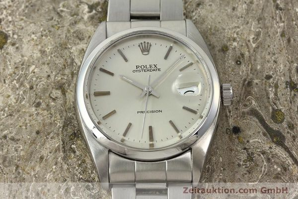 Used luxury watch Rolex Precision steel manual winding Kal. 1210  | 142896 16