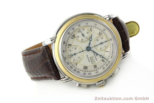 Used luxury watch Maurice Lacroix Masterpiece chronograph steel / gold automatic Kal. ML 67 ETA 7750 Ref. AC32365  | 142900 03