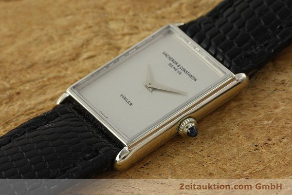 Used luxury watch Vacheron & Constantin * 18 ct white gold manual winding Kal. 1050/3  | 142902 01
