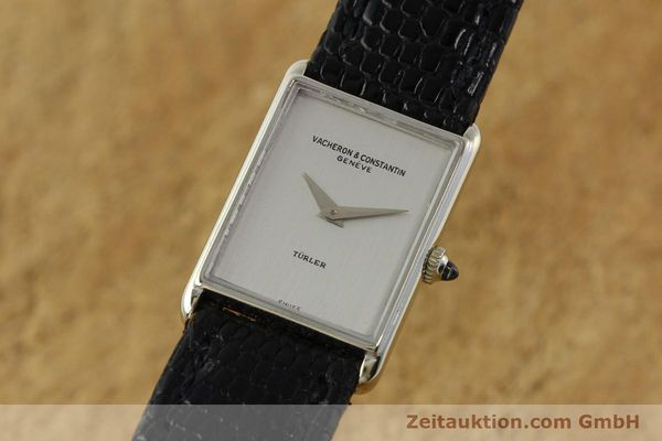 Used luxury watch Vacheron & Constantin * 18 ct white gold manual winding Kal. 1050/3  | 142902 04