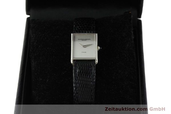 Used luxury watch Vacheron & Constantin * 18 ct white gold manual winding Kal. 1050/3  | 142902 07