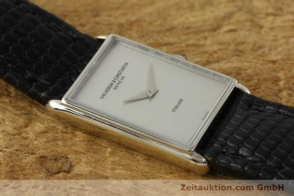 Used luxury watch Vacheron & Constantin * 18 ct white gold manual winding Kal. 1050/3  | 142902 13