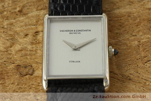 Used luxury watch Vacheron & Constantin * 18 ct white gold manual winding Kal. 1050/3  | 142902 14