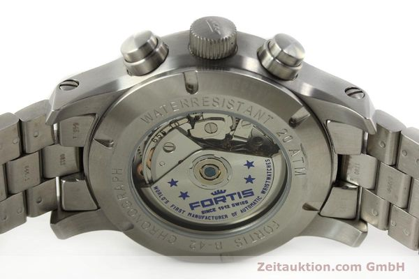 Used luxury watch Fortis B42 chronograph steel automatic Kal. ETA 7750 Ref. 656.10.141  | 142910 09