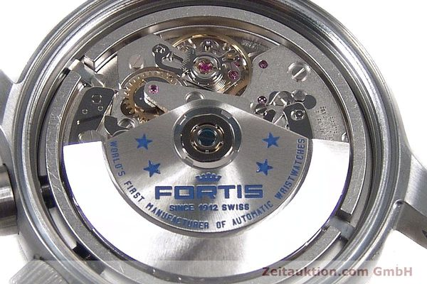 Used luxury watch Fortis B42 chronograph steel automatic Kal. ETA 7750 Ref. 656.10.141  | 142910 10