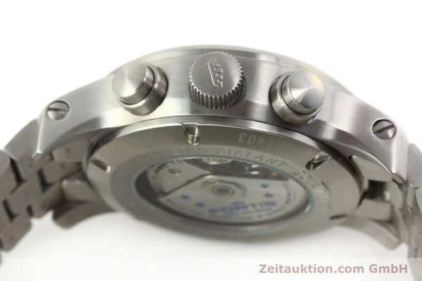 Used luxury watch Fortis B42 chronograph steel automatic Kal. ETA 7750 Ref. 656.10.141  | 142910 11