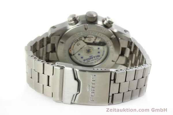 Used luxury watch Fortis B42 chronograph steel automatic Kal. ETA 7750 Ref. 656.10.141  | 142910 12