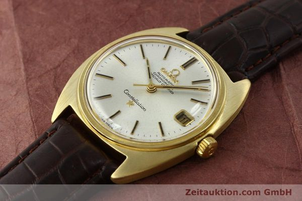 Used luxury watch Omega Constellation 18 ct gold automatic Kal. 564  | 142913 01