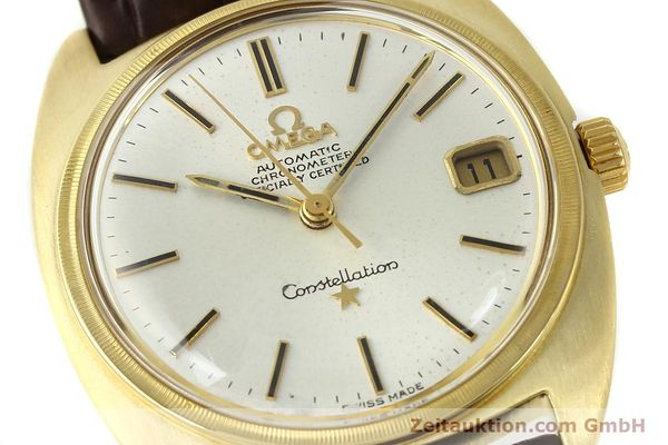 Used luxury watch Omega Constellation 18 ct gold automatic Kal. 564  | 142913 02