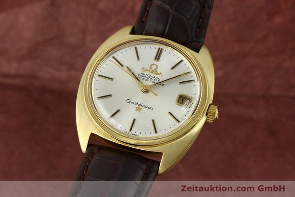 Used luxury watch Omega Constellation 18 ct gold automatic Kal. 564  | 142913 04