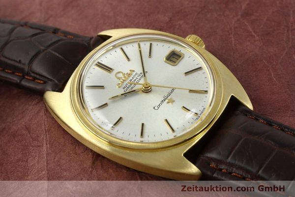 Used luxury watch Omega Constellation 18 ct gold automatic Kal. 564  | 142913 14