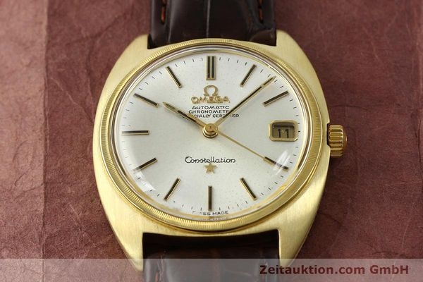 Used luxury watch Omega Constellation 18 ct gold automatic Kal. 564  | 142913 15